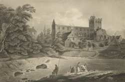 View of Jedburgh Abbey 90.c